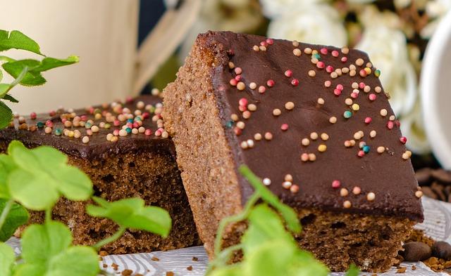 Dessert, Chocolate Tart, Suede Pieces, Chocolate Cake