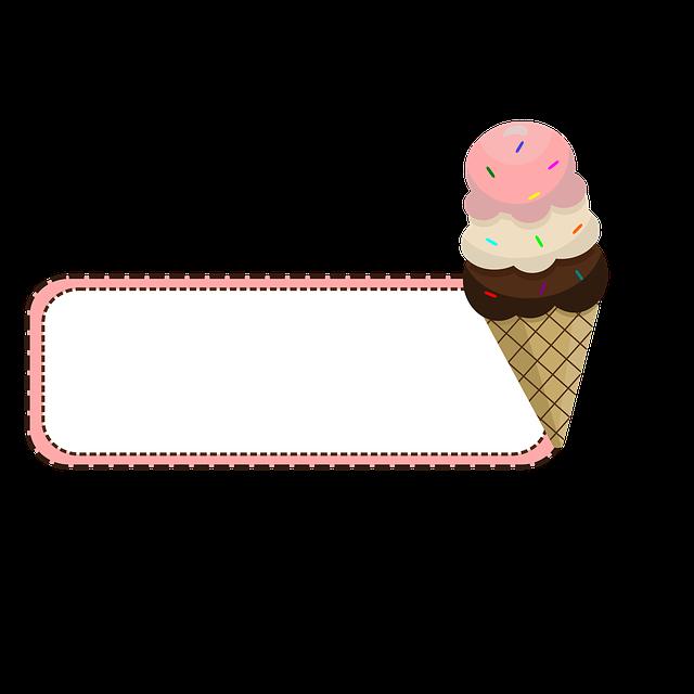 Ice Cream, Shop, Store, Chocolate, Strawberry, Vanilla