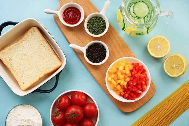 Chopping Block, Food, Fruits And Vegetables