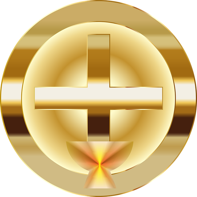 Chalice, Cup, Jesus, Christ, Cross, Crucifix, Christian
