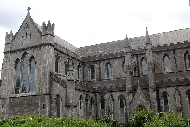 Christchurch, Dublin, Ireland, Cathedral, Architecture