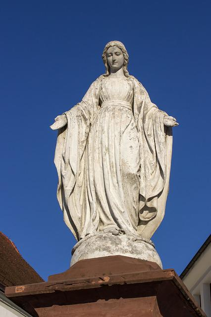 Maria, Mother Of God, Figure, Christianity, Christian