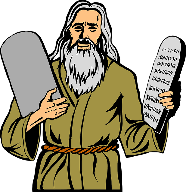 Moses, Religion, Christianity, Commandments, 10, Ten