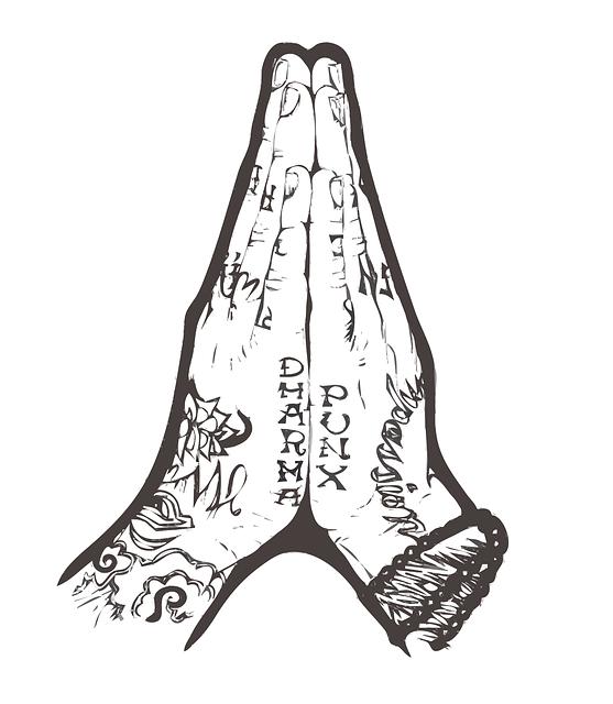 Prying, Hands, Folded, Christianity, Prayer, Gospel