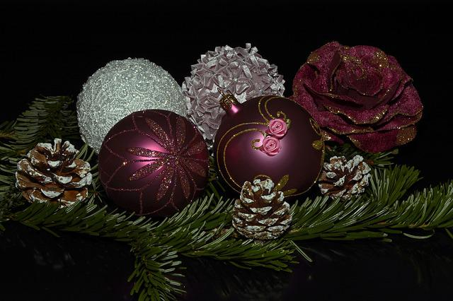 Christmas Balls, Balls, Christmas, Advent
