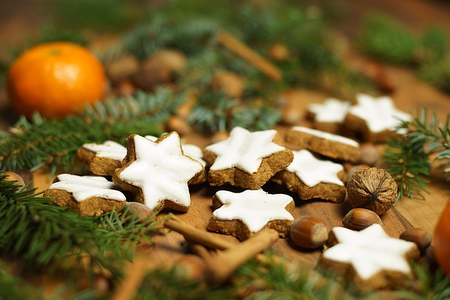 Cinnamon Stars, Advent Calendar, Gingerbread, Christmas