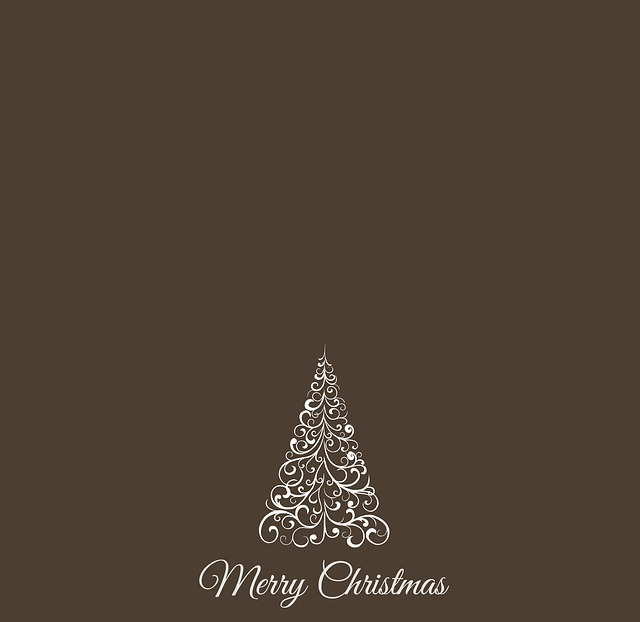 Christmas, Christmas Tree, Greeting Card, Background