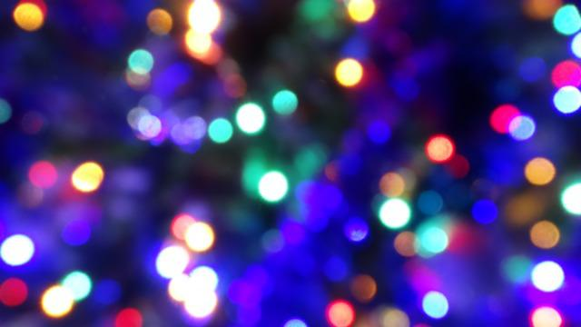 Net Of Christmas Lights