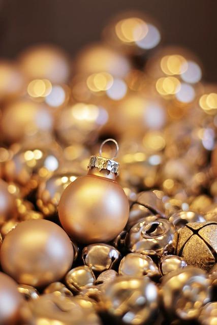 Christmas, Christmas Balls, Christmas Bells, Decoration