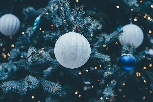 Christmas Bauble, Christmas Tree, Bangle, Celebration