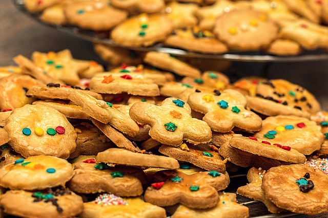 Christmas Cookies, Christmas Biscuits, Biscuit, Cookie