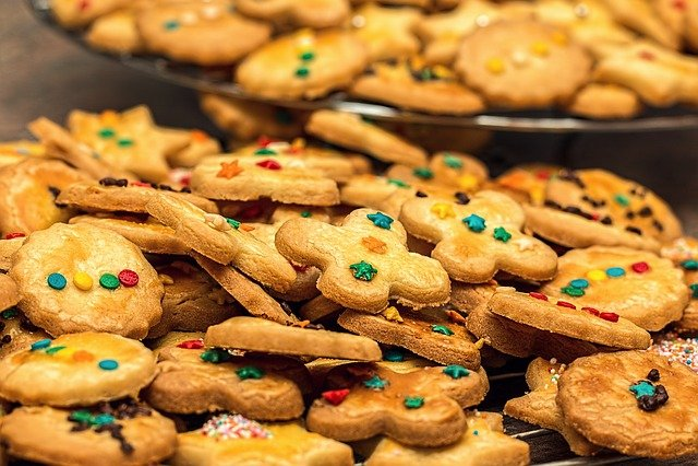Christmas Cookies, Christmas Biscuits, Biscuit, Cookie
