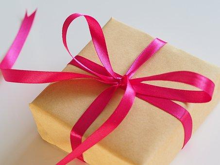 Thread, Bow, Gift, Birthday, Box, Christmas