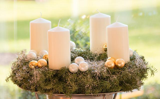 Advent, Christmas, Candle, Advent Wreath
