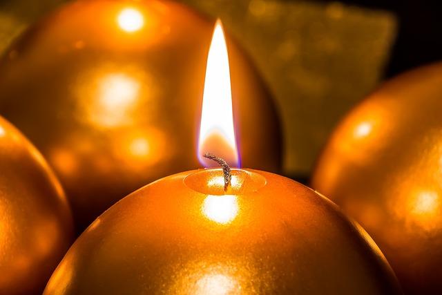 Candle, Christmas Candle, Candlelight, Heat, Flame