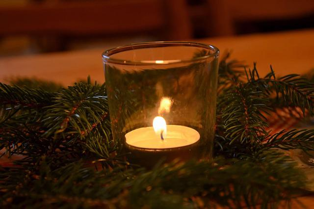Candles, Candlelight, Shimmer, Christmas, Advent