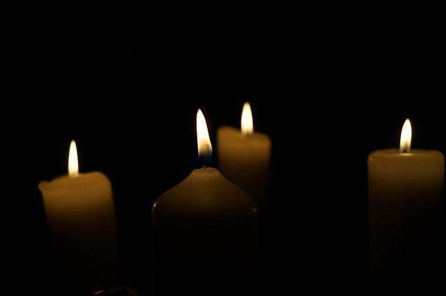 Advent Wreath, Fourth Candle, Candles, Christmas