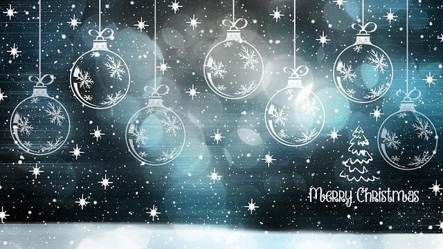 Christmas, Christmas Card, Bauble, Happy Holidays
