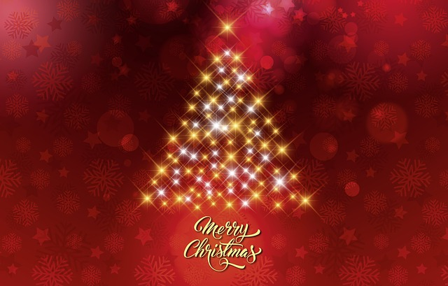 Christmas, Christmas Tree, Christmas Card, Background