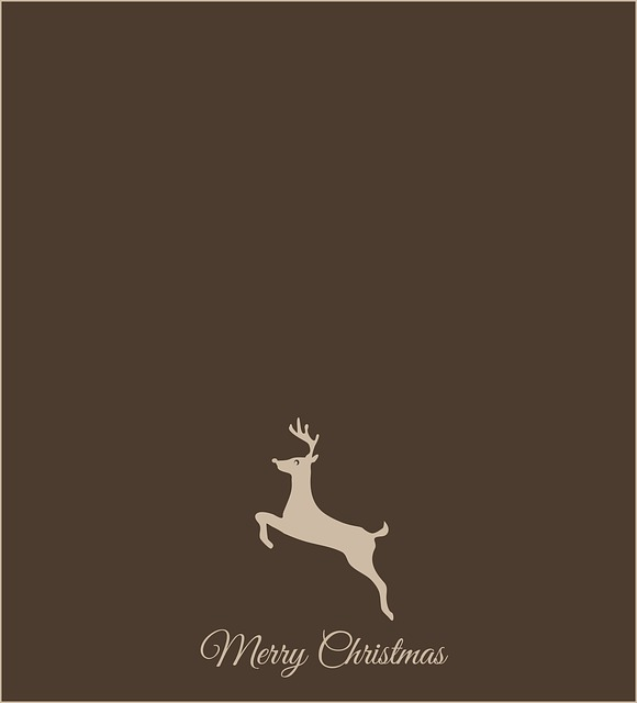 Christmas, Reindeer, Merry Christmas, Christmas Card