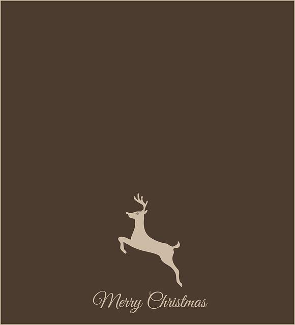 Christmas, Reindeer, Merry Christmas, Christmas Card