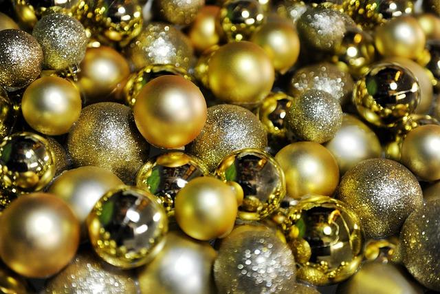 Christmas Balls, Deco, Christmas, Festive Decorations