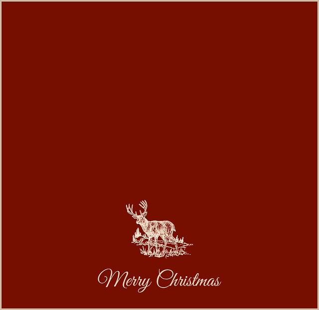 Christmas Card, Christmas, Christmas Motif