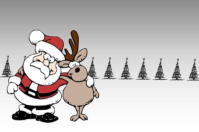 Christmas Card, Christmas, Santa Claus