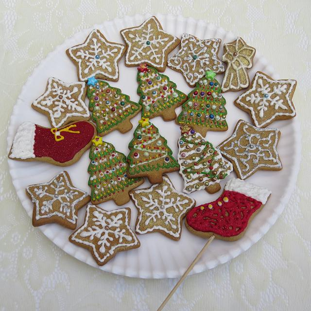 Gingerbread Cookies, Christmas Pastries, Christmas