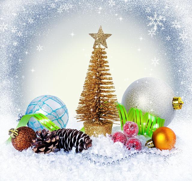 Holiday, Christmas, New Year, Christmas Tree