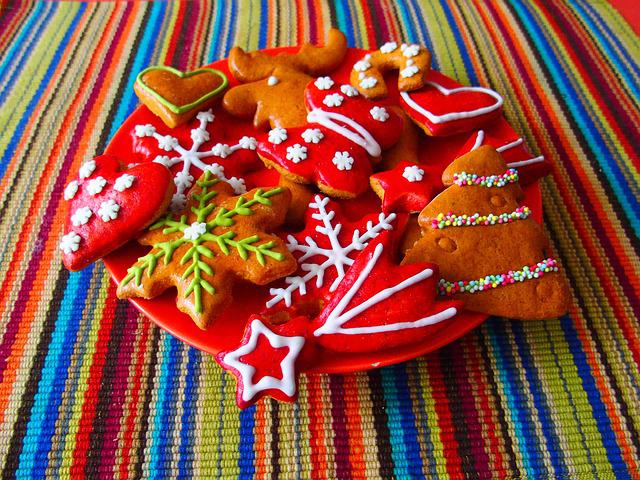Christmas, Christmas Cookies, Sweets, Gingerbread