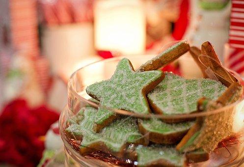 Christmas Cookies, Xmas, Christmas, Gingerbread