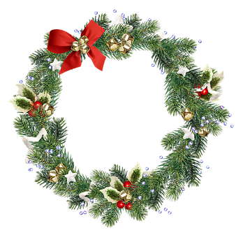 Wreath, Christmas Wreath, Christmas Decoration, Decor
