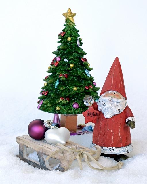 Santa Claus, Nicholas, Christmas, Christmas Decoration