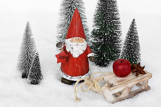 Santa Claus, Nicholas, Christmas, Christmas Decoration