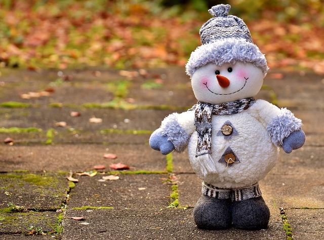 Snowman, Figure, Christmas, Decoration, Figures