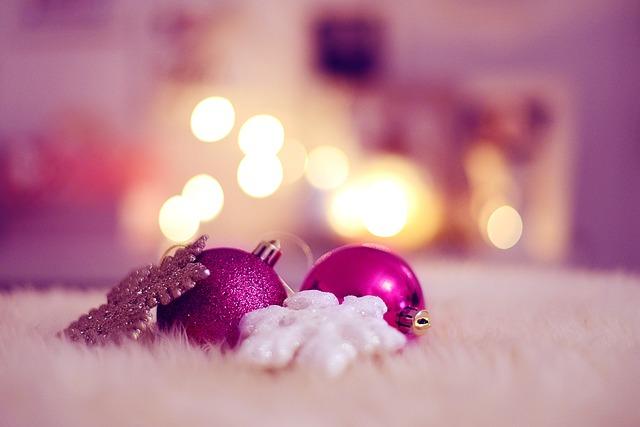 Christmas, Balls, Christmas Decorations