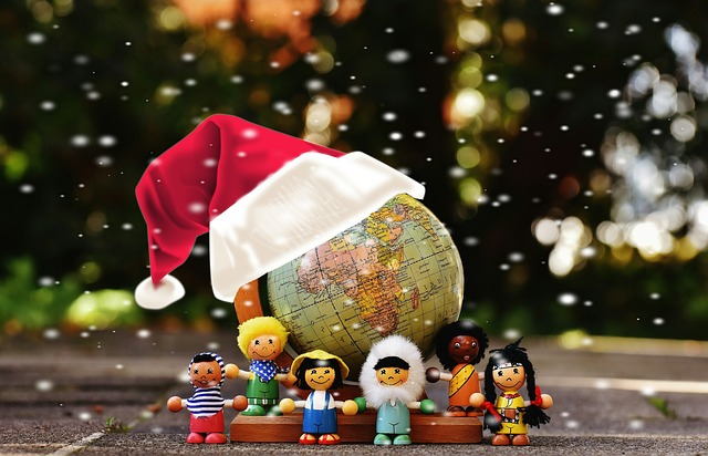 Different Nationalities, Christmas, For All Children