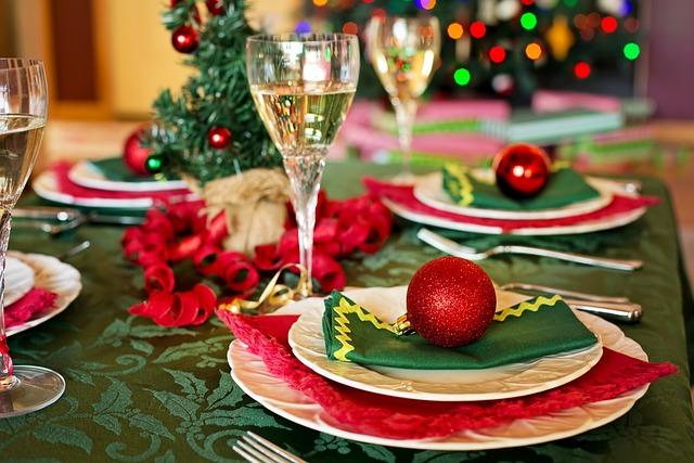 Christmas Table, Christmas Dinner