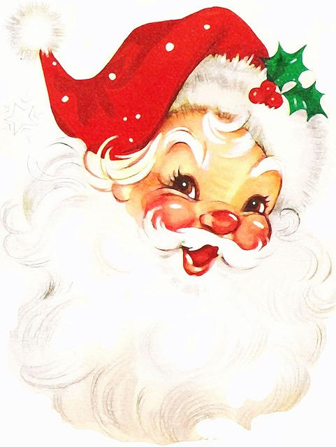Santa Claus, Christmas, Parties, Joy, End Of The Year