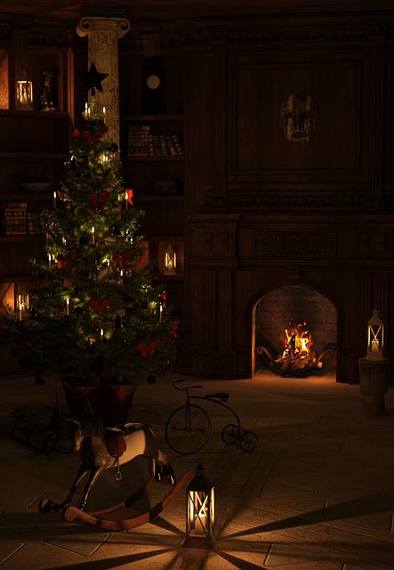 Christmas, Christmas Eve, Atmosphere, December