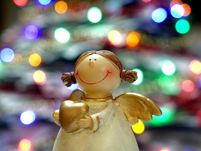 Angel, Figure, Christmas Figure, Christmas