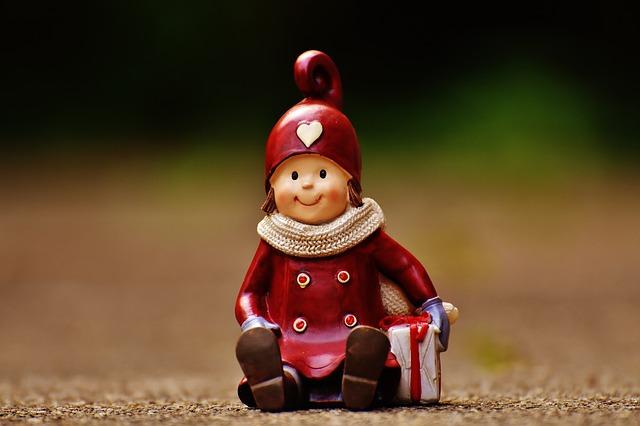 Figure, Heart, Funny, Winter, Christmas, Deco