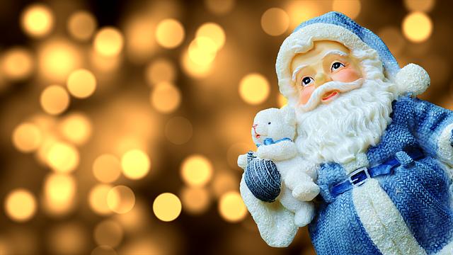 Santa Claus, Figure, Christmas, Decoration, Nicholas