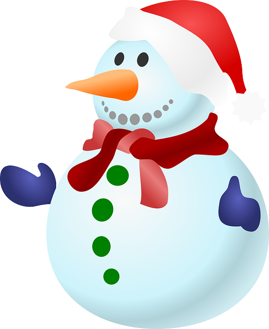 Snowman, Christmas, Snow, Cold, Winter, Frozen, Gloves