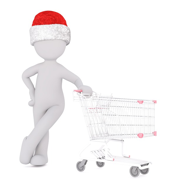Christmas, White Male, Full Body, Santa Hat, 3d Model