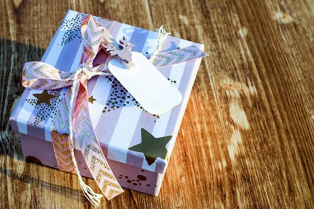 Christmas Gift, Gift Box, Gift, Christmas, Packed