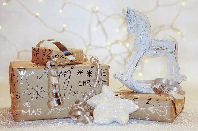 Christmas, Gifts, Packed, Surprise, December, Advent