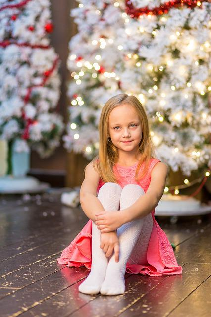 Child, Christmas, Girl, People, Season, Happiness
