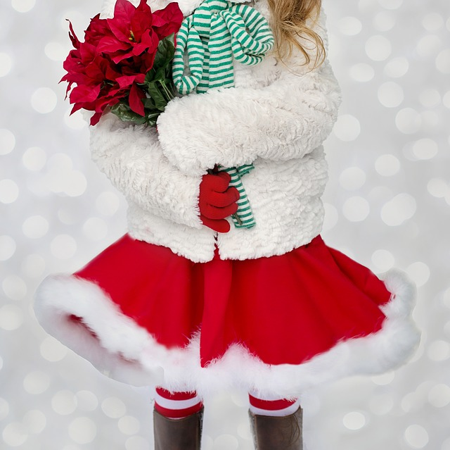 Santa Girl, Santa, Christmas Girl, Girl, Xmas